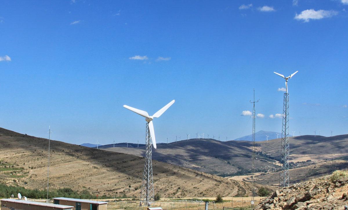 Small Wind Turbine E800 - The latest technology