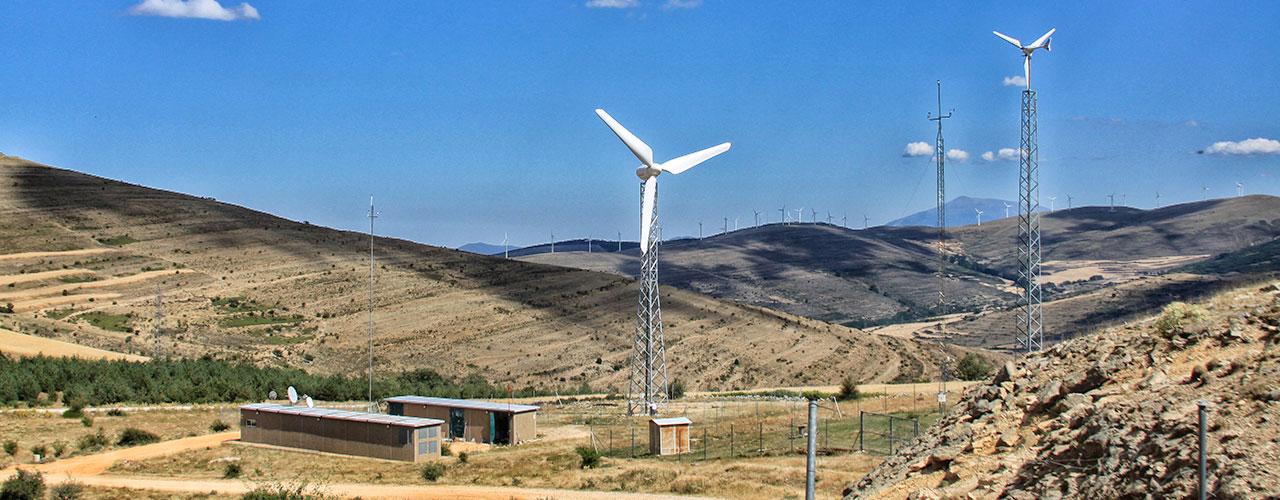 Certification of the wind turbines Enair